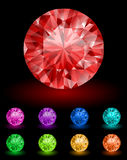 Diamants royaux illustration stock