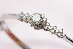 diamantsmycken Royaltyfria Foton