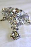 diamantsmycken Arkivfoton