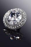 diamantsmycken royaltyfria bilder