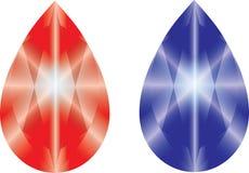 Diamantstein Stockbilder