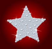 Diamantstern Stockfoto