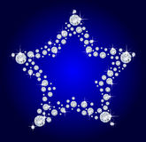 diamantstjärna Arkivfoton