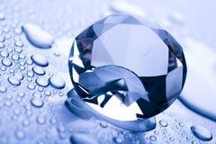 diamantvatten Royaltyfri Bild