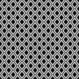 Diamantvektorwiederholung deckte Muster mit Ziegeln Lizenzfreie Stockfotografie