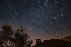 Diament gwiazdy ślad Fotografia Stock