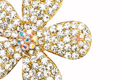 Diament na biżuterii Obrazy Stock