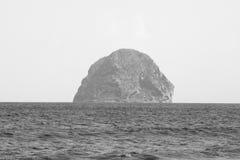 Diament skała w Martinique Zdjęcia Stock