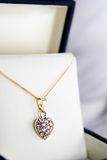 diamentowa biżuteria Zdjęcia Royalty Free