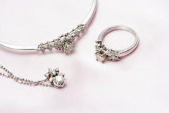 diamentowa biżuteria Zdjęcie Royalty Free