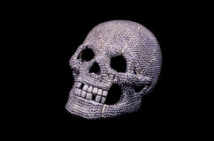 Diamentowa czaszka Zdjęcie Royalty Free