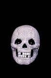 Diamentowa czaszka Zdjęcia Royalty Free