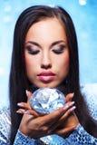 diamentowa kobieta Obrazy Royalty Free