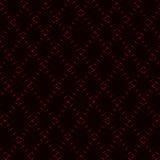 Diamentowa rombowa czerwona siatka, neonowy tło Zdjęcie Royalty Free