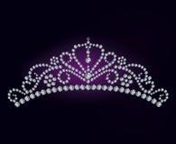 Diamentowa tiara Fotografia Royalty Free