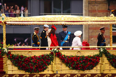 diamentowego jubileuszu królowa s Obraz Royalty Free