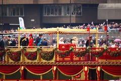 diamentowego jubileuszu królowa s Zdjęcia Royalty Free