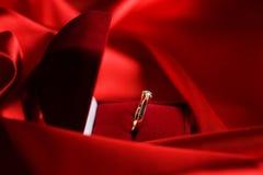 diamentowego pierścionku ślub Obrazy Royalty Free