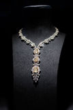 diamentowej mody wspaniała kolia Fotografia Royalty Free