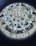 Diamentowi kryształy zdjęcie royalty free
