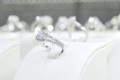 Diamentowi pierścionki zdjęcie royalty free