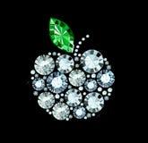 Diamentowy Apple Obrazy Stock