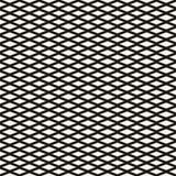 Diamentowy bezszwowy geometryczny wzór Prosta wektorowa tekstura Obrazy Stock