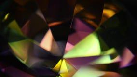 Diamentowy graniastosłup Makro- zdjęcie wideo