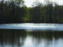 Diamentowy jezioro Fotografia Royalty Free