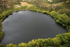 Diamentowy jezioro, Wanaka, Nowa Zelandia obrazy royalty free