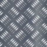 Diamentowy metalu talerza wektoru Bezszwowy wzór Panwiowy aluminium prześcieradło Bezszwowy metalu tło również zwrócić corel ilus Obrazy Stock