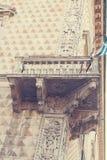 Diamentowy pałac na dach budynku architektury szczególne Obraz Stock