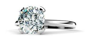 diamentowy pierścionek ilustracji