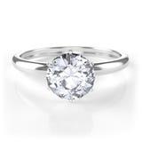 Diamentowy pierścionek Obrazy Royalty Free
