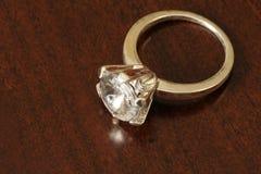 diamentowy pierścionek Obraz Royalty Free