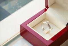 Diamentowy pierścionek, obrączka ślubna, obrączki ślubnej panny młodej cena gradientową wycinek ilustrację do cyfrowej sieci symb Obrazy Royalty Free