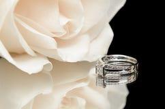 diamentowy pierścionek zaręczynowy Zdjęcie Royalty Free