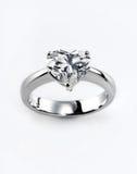 diamentowy pierścionek Zdjęcie Royalty Free
