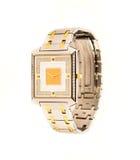 Diamentowy szwajcara zegarek fotografia stock
