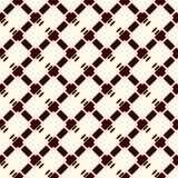 Diamentowy w kratkę tło Bezszwowy powierzchnia wzór z częstotliwa przekątna krzyżować kluć się liniami Siatki tapeta ilustracja wektor