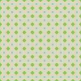Diamentowych kształtów potomstw seamelss zielony wzór ilustracji