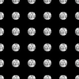 diamentu bezszwowy deseniowy Fotografia Stock