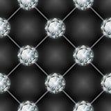 diamentu deseniowy bezszwowy również zwrócić corel ilustracji wektora Fotografia Stock