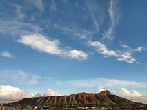 Diamentu Kierowniczy krater Fotografia Stock