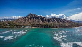 Diamentu Kierowniczy krater Honolulu Hawaje Zdjęcie Stock