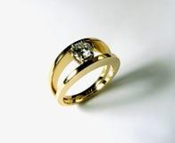Diamentu pierścionek Obrazy Royalty Free