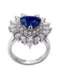 Diamentu pierścionek Zdjęcie Royalty Free