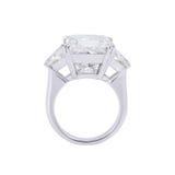 Diamentu pierścionek. Zdjęcia Stock