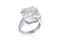 Diamentu pierścionek. Zdjęcia Royalty Free