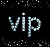 Diamentu Vip znak Obraz Royalty Free